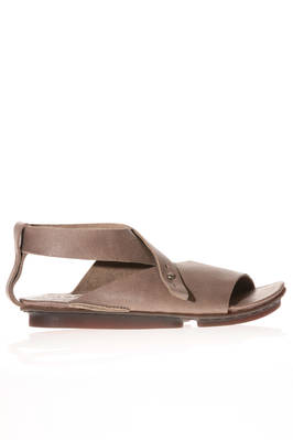 SWOOSH sandal in cowhide leather and rubber concave sole  - 51