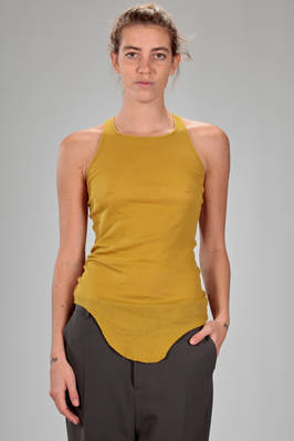 classic 'Rick Owens' tank top in light cotton jersey  - 120