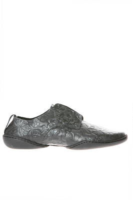 POLO shoe without laces in cowhide leather with tone-on-tone floral texture  - 51