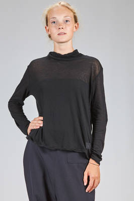 hip length t-shirt on light cotton jersey  - 327