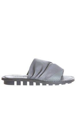 DRIFT sandal in cowhide and elk leather, classic rounded rubber sole  - 51
