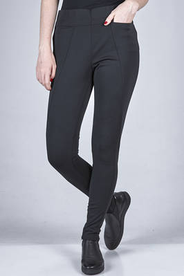 leggings in heavy jersey of polyester and polyurethane  - 47