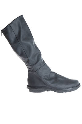 STEAM boot in soft cowhide leather with an effect of slightly old shoe made of rubber  - 51