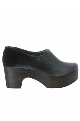 clog in cotton smooth velvet  - 195